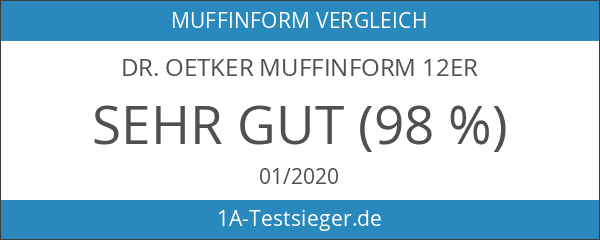 Dr. Oetker Muffinform 12er