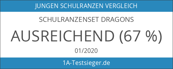 Schulranzenset Dragons