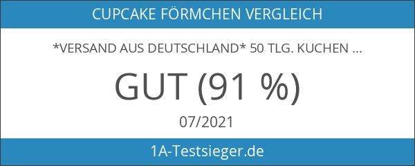 *Versand aus Deutschland* 50 Tlg. Kuchen Cupcake Wrapper Verpackung Dekoration