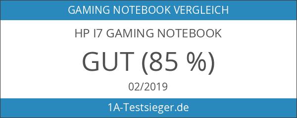 HP i7 Gaming Notebook