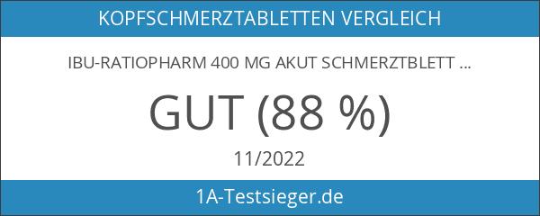 IBU-ratiopharm 400 mg akut Schmerztbletten