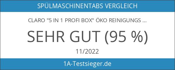 """claro """"5 in 1 Profi Box"""" Öko Reinigungs Set mit"""