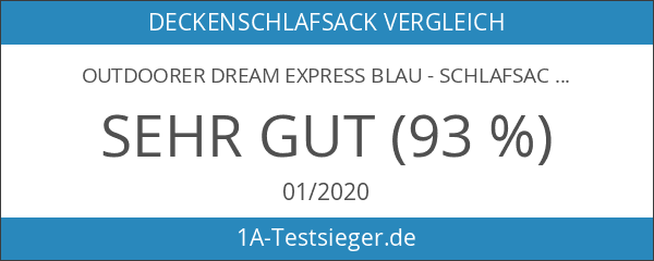 Outdoorer Dream Express blau - Schlafsack für Kinder