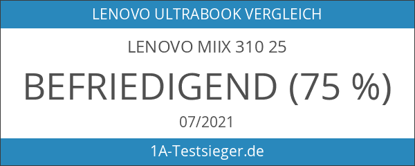 Lenovo Miix 310 25