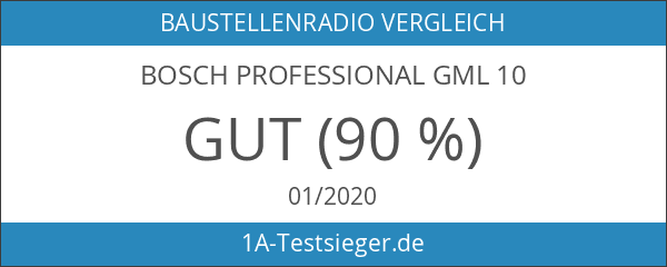 Bosch Professional GML 10