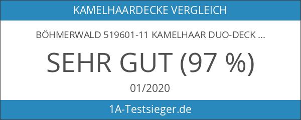 Böhmerwald 519601-11 Kamelhaar Duo-Decke