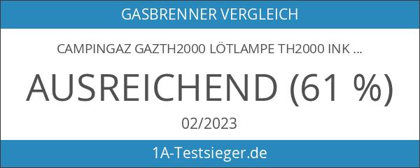 Campingaz GAZTH2000 Lötlampe TH2000 inkl. ergonomischem Griff für Einhandbenutzung