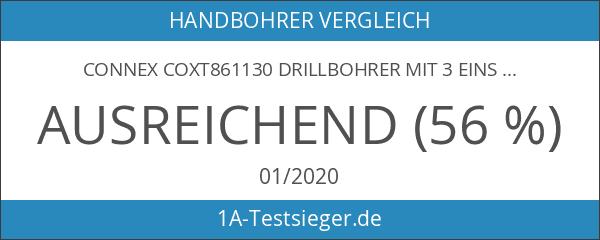 Connex COXT861130 Drillbohrer mit 3 Einsätzen