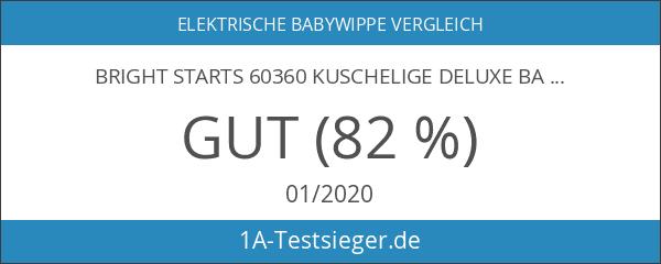 Bright Starts 60360 kuschelige Deluxe Babyschaukel mit drehbarem Sitz
