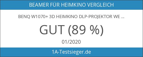 BenQ W1070+ 3D Heimkino DLP-Projektor weiß