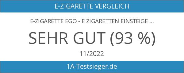 E-Zigarette eGo - E Zigaretten Einsteiger-Set inkl. Atomizer