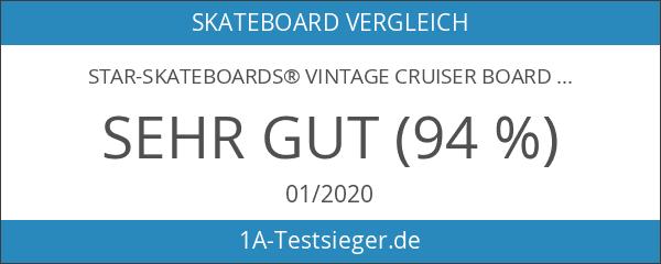 STAR-SKATEBOARDS® Vintage Cruiser Board ★ 22er Diamond Class ★ Pepper
