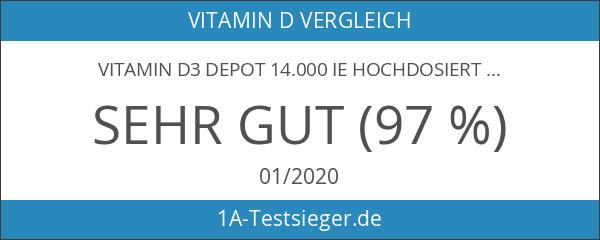 Vitamin D3 Depot 14.000 IE hochdosiert