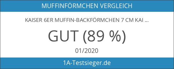 Kaiser 2300686127 6 Muffin-Backförmchen