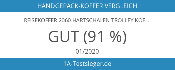 Reisekoffer 2060 Hartschalen Trolley Kofferset in 12 Motiven SET--XL-L--M-- Beutycase