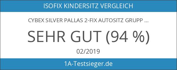 CYBEX SILVER Pallas 2-fix Autositz Gruppe 1