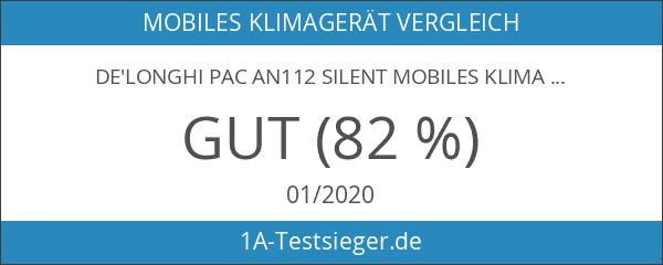 De'Longhi PAC AN112 Silent Mobiles Klimagerät [Energieklasse A+]
