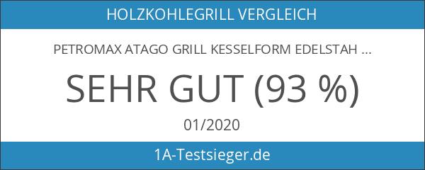 Petromax Atago Grill Kesselform Edelstahl–Barbecues und Grills