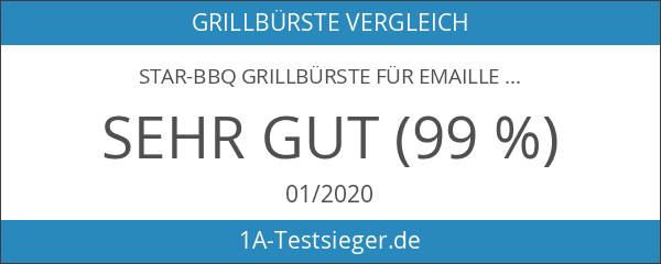STAR-BBQ Grillbürste für Emaille