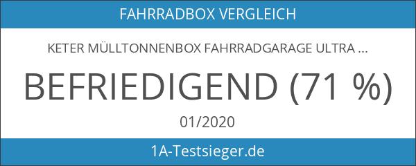 Keter Mülltonnenbox Fahrradgarage Ultra Gerätebox Gartenbox Gartenschuppen XXL