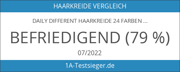 Daily Different Haarkreide 24 Farben