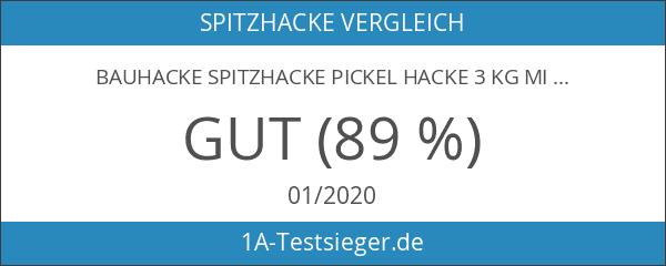 Bauhacke Spitzhacke Pickel Hacke 3 kg mit Buchenstiel 95 cm