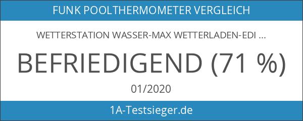 Wetterstation Wasser-Max Wetterladen-Edition incl. Schwimmsender TFA-Dostmann