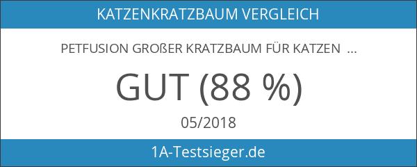 """PetFusion Großer Kratzbaum für Katzen """"Jumbo-Lounge"""""""