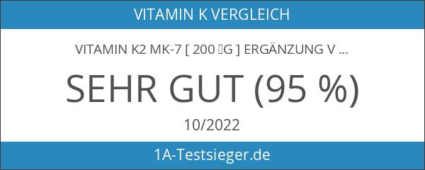 Vitamin K2 MK-7 [ 200 µg ] Ergänzung von Aava
