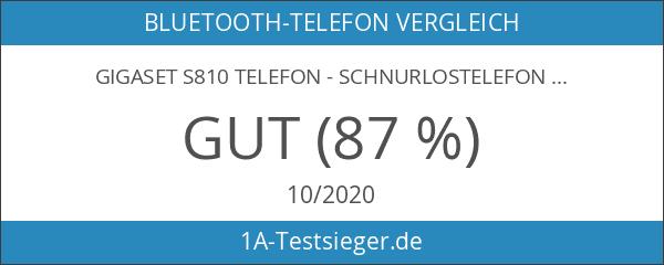 Gigaset S810 2.0 Dect-Schnurlostelefon