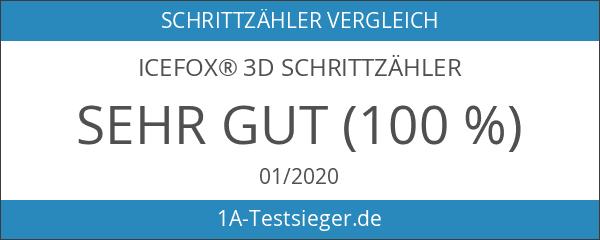 icefox® 3D Schrittzähler