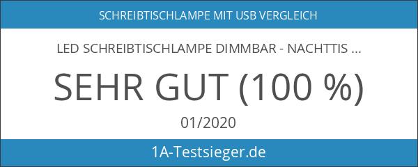 LED Schreibtischlampe Dimmbar - Nachttischlampe