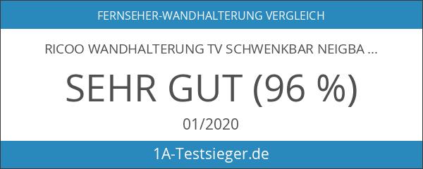 RICOO Wandhalterung TV Schwenkbar Neigbar S2544 Universal LCD Wandhalter Ausziehbar