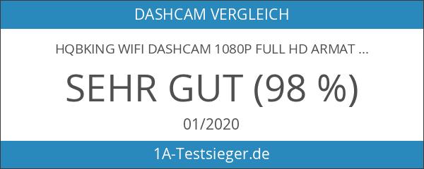 HQBKing WiFi DashCam 1080P Full HD Armaturenbrett Kamera Mini Magnetische
