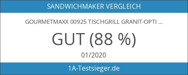 GOURMETmaxx 00925 Tischgrill Granit-Optik 800 W