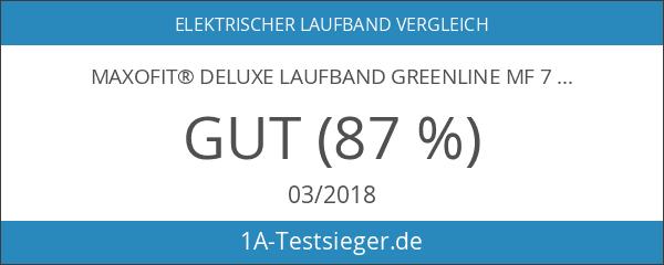 MAXOfit® Deluxe Laufband Greenline MF 7 klappbar