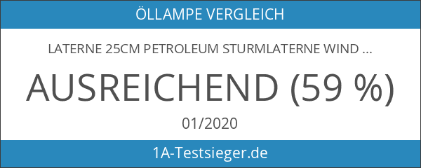 Laterne 25cm Petroleum Sturmlaterne Windlaterne Sturmlampe Windlicht Öllampe