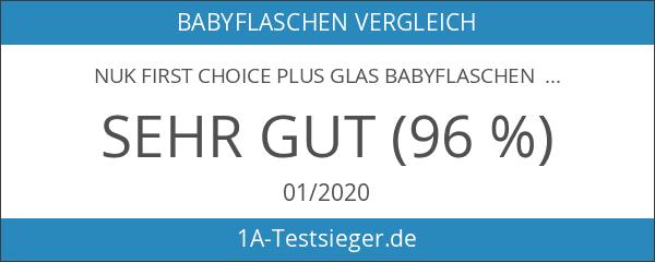 NUK 10225128 First Choice Plus Starter Set Glas