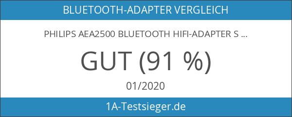 Philips AEA2500 Bluetooth HiFi-Adapter schwarz