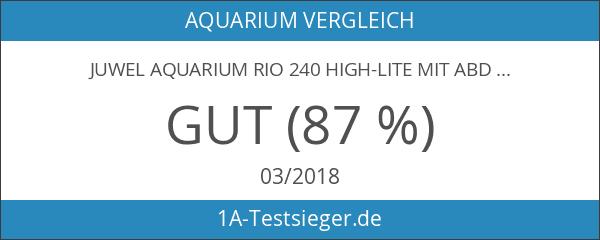 Juwel Aquarium Rio 240 High-Lite mit Abdeckung
