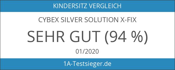 Cybex Silver Solution X-fix Kinderautositz Gruppe 2
