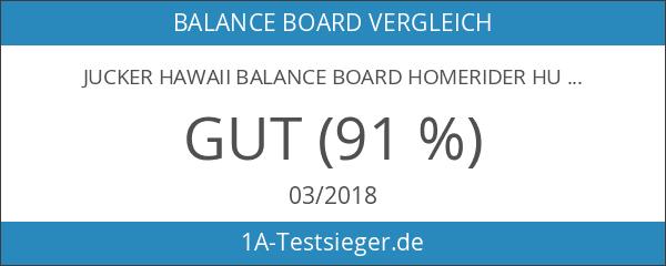 JUCKER HAWAII Balance Board Homerider HULA - Balancetrainer inkl. Rolle