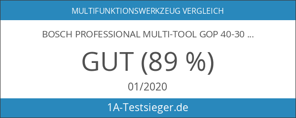 Bosch Professional Multi-Tool GOP 40-30