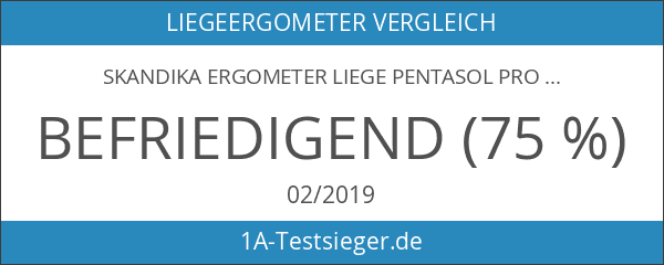 Skandika Ergometer Liege Pentasol Pro