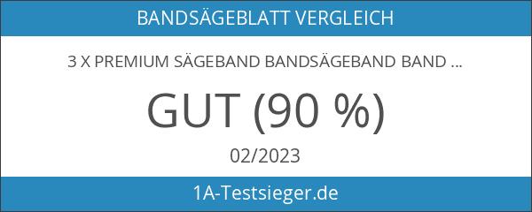 3 x Premium Sägeband Bandsägeband Bandsägeblatt 1712 mm x 6