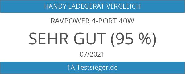 RAVPower 4-Port 40W