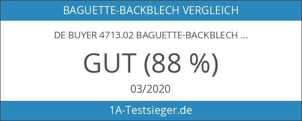 De Buyer 4713.02 Baguette-Backblech