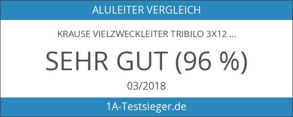 Krause Vielzweckleiter Tribilo 3x12