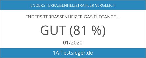 Enders 9376 Terrassenheizstrahler Cosystand Elegance Edelstahl Eco-Plus