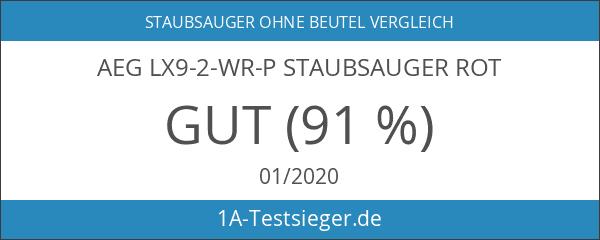 AEG LX9-2-WR-P Staubsauger rot